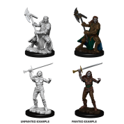 D&D Nolzur's Marvelous Miniatures - Female Half-Orc Fighter (6 Units)