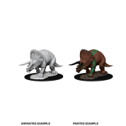 D&D Nolzur's Marvelous Miniatures - Triceratops (6 Units)
