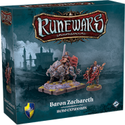 FFG - RuneWars: The Miniatures Game - Baron Zachareth Hero Expansion - EN
