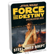FFG - Star Wars RPG: Force and Destiny - Steel Hand Adept Specialization Deck - EN