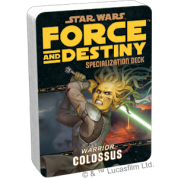 FFG - Star Wars RPG: Force and Destiny - Colossus Specialization Deck - EN