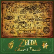 The Legend of Zelda Hyrule Map Collector's 550 Piece Puzzle