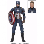 Marvel Captain America Civil War - CAPTAIN AMERICA 1/4th Scale Action Figure 45cm (Slightly damaged box)