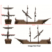 D&D Icons of the Realms: The Falling Star Sailing Ship - EN