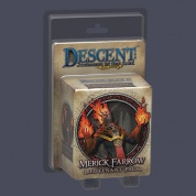 FFG - Descent 2nd Edition: Merick Farrow Lieutenant - EN