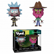 Funko VYNL 2-Pack: Rick & Morty - SEAL Rick and Scary Terry Vinyl Figures 10cm