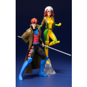 Marvel Universe X-Men '92 Gambit and Rogue Two Pack ARTFX+ 1/10 Scale Statue 19cm