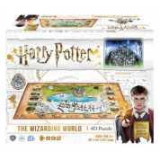 4D Cityscape - Harry Potter and Hogsmead Wizarding World Puzzle