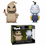 Funko VYNL 2-Pack: NBC - Oogie Boogie and Behemoth Vinyl Figures 10cm