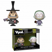 Funko VYNL 2-Pack: NBC - Mayor and Barrel Vinyl Figures 10cm