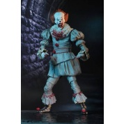 "IT - Action Figure - Ultimate ""I Heart Derry"" Pennywise (2017 Movie) 18cm"