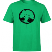 Magic The Gathering Green Mana Splatter Men's T-Shirt - Kelly Green - M
