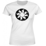 Magic The Gathering White Mana Splatter Women's T-Shirt - White - XXL