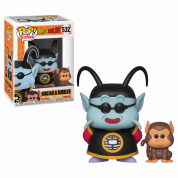 Funko POP! DBZ S5 - King Kai & Bubbles Vinyl Figure 10cm