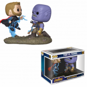 Funko Pop! Movie Moments - Thor vs Thanos Vinyl Figure 15cm