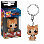 Funko POP! Keychains Captain Marvel - Goose the Cat Vinyl Figure 4cm