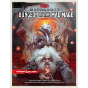 D&D RPG - Dungeon of the Mad Mage RPG Book - EN