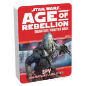 FFG - Star Wars Age of Rebellion RPG: Spy Signature Abilities Specialization Deck - EN