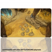 Blackfire Playmat - Battleground Edition Plains - Ultrafine 2mm