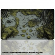 Blackfire Playmat - Battleground Edition Swamp - Ultrafine 2mm