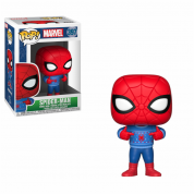 Funko POP! Holiday -Spider-Man w/ Ugly Sweater Vinyl Figure 10cm
