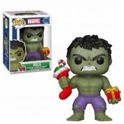 Funko POP! Holiday - Hulk w/Stocking & Plush Vinyl Figure 10cm
