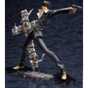Trigun Badlands Rumble Nicholas D. Wolfwood Renewal Package ver. ARTFX J PVC Statue 1/8 Scale 20cm