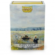 Dragon Shield Standard Art Sleeves - Poppy Field (100 Sleeves)