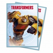 UP - Standard Deck Protector - Hasbro Transformers Bumblebee (100 Sleeves)