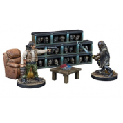 The Walking Dead: All Out War - The Governor's Trophy Room Collector's Resin Set - EN