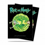 UP - Standard Deck Protector - Rick and Morty V3 (65 Sleeves)