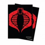 UP - Standard Deck Protector - G.I. Joe Cobra (100 Sleeves)
