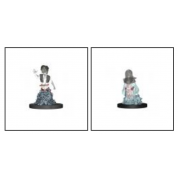 WizKids Wardlings Painted RPG Figures: Ghost (Female) & Ghost (Male) (6 Units)