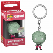 Funko POP! Keychain: Fortnite - Love Ranger Vinyl Figure 4cm