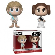 Funko VYNL 2-Pack: Star Wars - Princess Leia & Luke Skywalker Vinyl Figures 10cm
