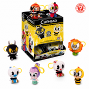 Funko Keychains - Cuphead Blindbags Display (18 random packaging) Plush Figures 7cm