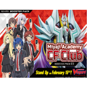 Cardfight!! Vanguard V - Miyaji Academy CF Club Booster Display (16 Packs) - EN