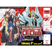 Cardfight!! Vanguard V - Miyaji Academy CF Club Sneak Preview Kit - EN