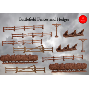 Terrain Crate: Battlefield Fences & Hedges