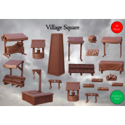 Terrain Crate: Village Square