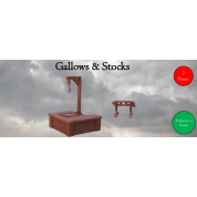 Terrain Crate: Gallows & Stocks