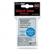 UP - Board Game Sleeves - American Size 41x63mm (50 Sleeves)