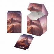 UP - PRO 100+ Deck Box - Unstable Lands Mountain