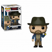 Funko POP! Stranger Things - Hopper w/Flashlight Vinyl Figure 10cm