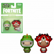 Funko Pint Sized Heroes Fortnite - Rex & Tricera Ops - Vinyl Figures 2-pack