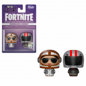 Funko Pint Sized Heroes Fortnite - Moonwalker & Burnout - Vinyl Figures 2-pack