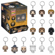 Funko Keychains - LOTR/Hobbit Blindbags Display (24 random packaging) 4cm