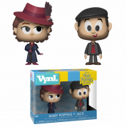 Funko VYNL 2-Pack: Mary Poppins Mary & Jack the Lamplighter Vinyl Figures 10cm