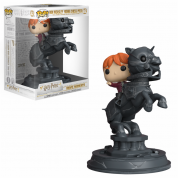Funko POP! Movie Moments: Harry Potter - Ron Riding Chess Piece Vinyl Figure