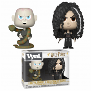 Funko VYNL 2-Pack: Harry Potter - Bellatrix & Voldemort Vinyl Figures 10cm